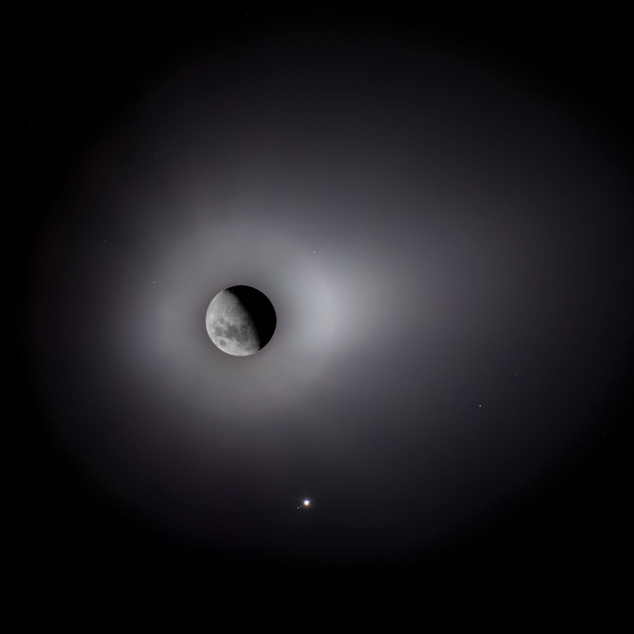 Moon & Jupiter Conjunction 16/05/2016