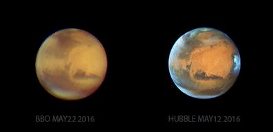 Mars-Hubble